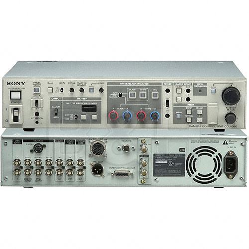Sony CCU-D50P PAL System Digital Camera Control Unit
