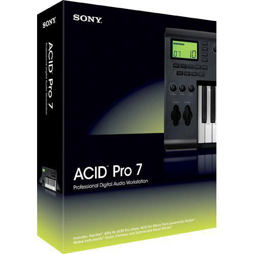 MAGIX Entertainment ACID Pro 7 - Audio, MIDI and Loop Based Recording Software (100 to 499 License Tier)