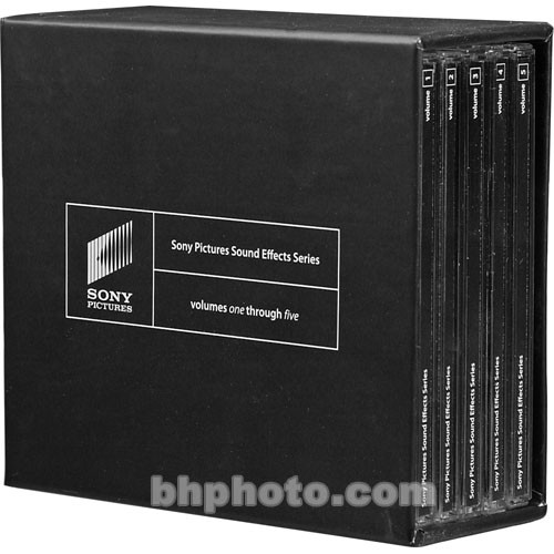 Sony Sony Pictures Sound Effects Series - Volumes 1 to 5