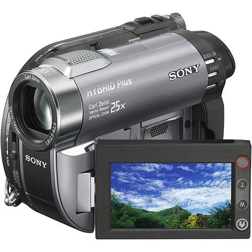 Sony DEMO DCR-DVD810 8GB Hybrid DVD/Memory Stick Standard Definition Camcorder