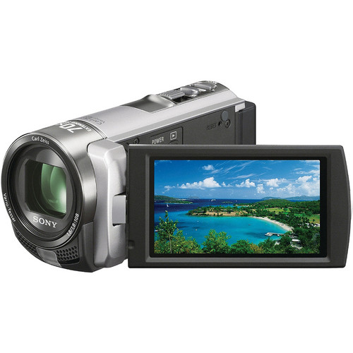 Sony DCR-SX45 SD Flash Memory Camcorder (Silver)