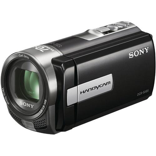 Sony DCR-SX65E SD Flash Memory PAL Camcorder (Black)
