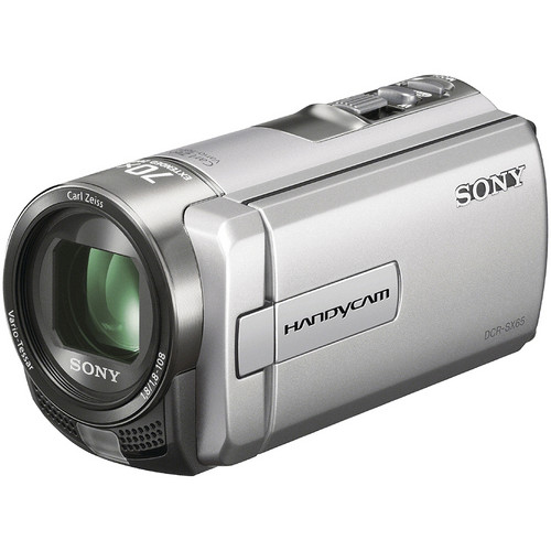 Sony DCR-SX65 PAL Camcorder (Silver)