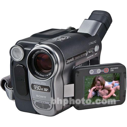 "Sony DCR-TRV285E ""PAL"" Digital-8 Camcorder"