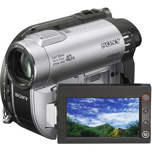 Sony DCR-DVD610 Hybrid DVD/Memory Stick Standard Definition Camcorder