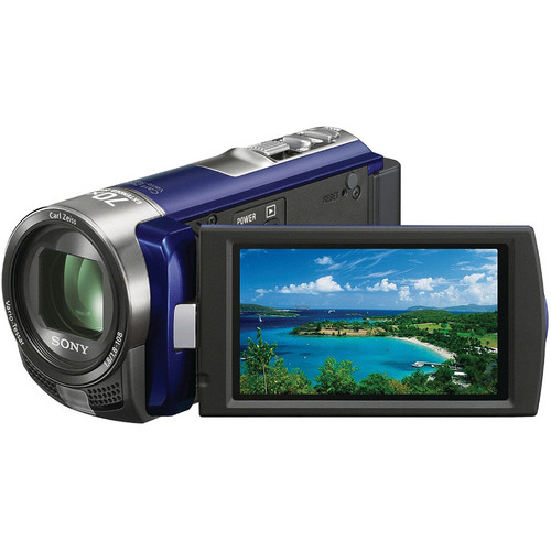 Sony DCR-SX45 SD Flash Memory Camcorder (Blue)