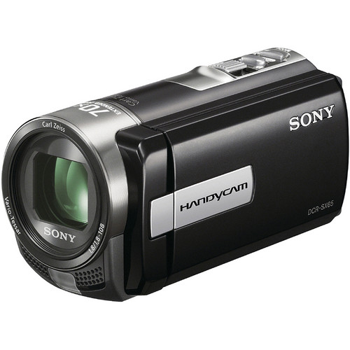 Sony DCR-SX65 Flash Memory Camcorder (Black)