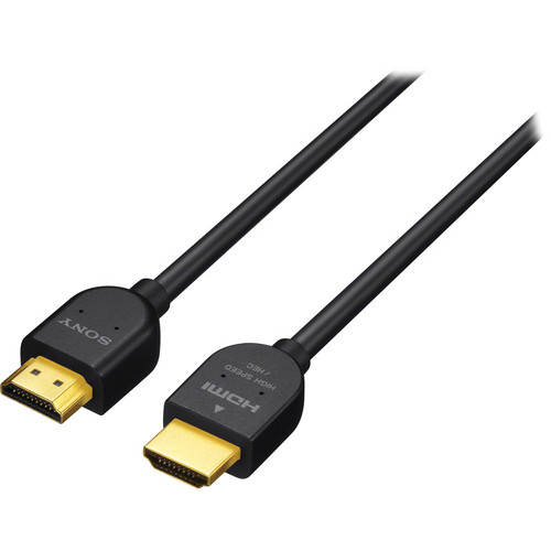 Sony High Speed HDMI Cable - 6'