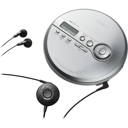 Sony D-NF340 CD Walkman MP3 w/FM Tuner