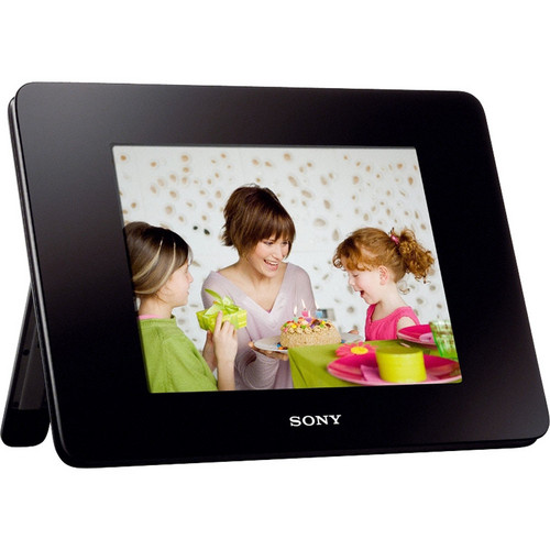"Sony 8"" Digital Photo Frame (Video and Audio)"