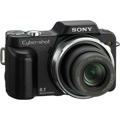 Sony Cyber-shot DSC-H3 Digital Camera (Black)