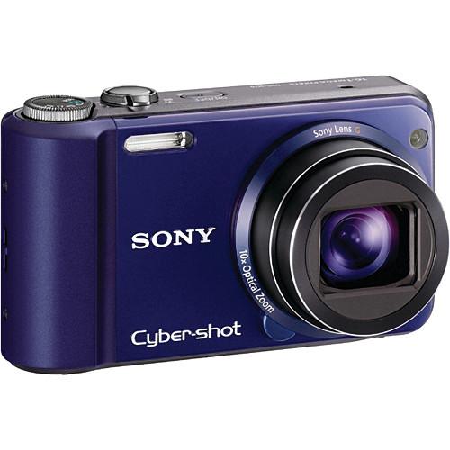 Sony Cyber-shot DSC-H70 Digital Camera (Blue)