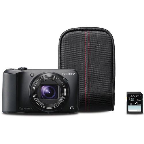 Sony Cyber-shot DSC-H90 Digital Camera Kit (Black)