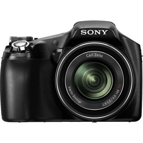 Sony Cyber-shot DSC-HX100V Digital Camera (Black)