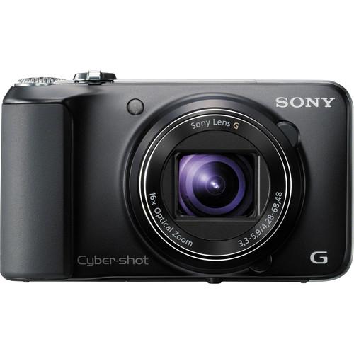 Sony Cyber-shot DSC-HX10V Digital Camera (Black)