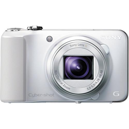 Sony Cyber-shot DSC-HX10V Digital Camera (White)