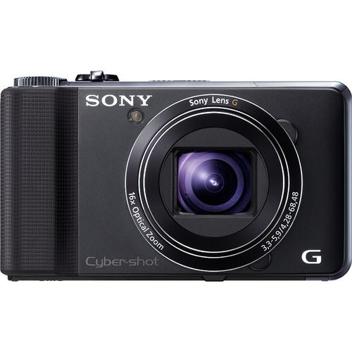 Sony Cyber-shot DSC-HX9V Digital Camera (Black)