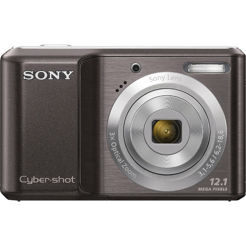 Sony Cyber-shot DSC-S2100 Digital Camera (Black)