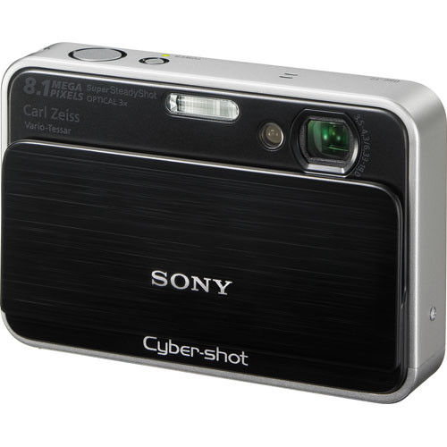 Sony Cyber-shot DSC-T2 Digital Camera (Black)