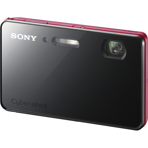 Sony Cyber-shot DSC-TX200V Digital Camera (Red)