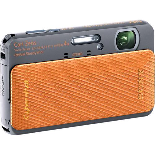 Sony Cyber-shot DSC-TX20 Digital Camera (Orange)