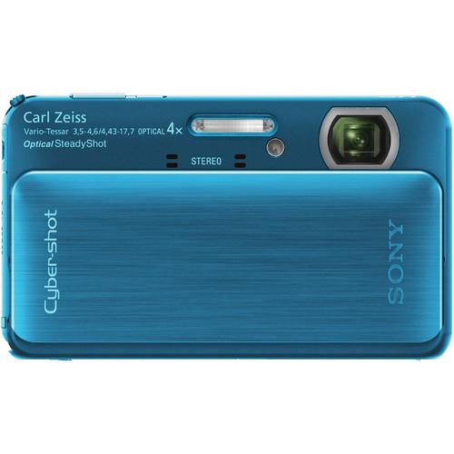 Sony Cyber-shot DSC-TX20 Digital Camera (Blue)