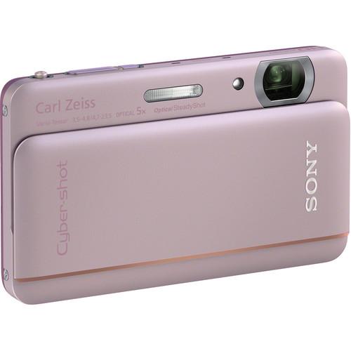 Sony Cyber-shot DSC-TX66 Digital Camera (Pink)