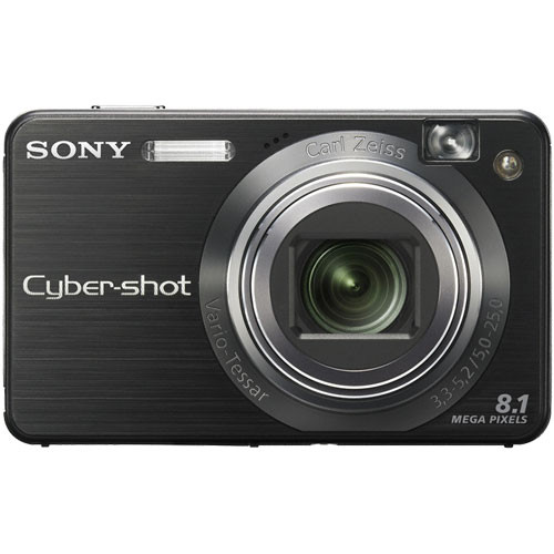 Sony Cyber-shot DSC-W150 Digital Camera (Black)