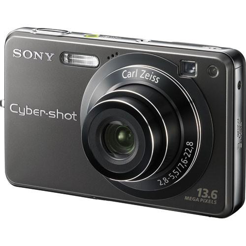 Sony Cyber-shot DSC-W300 Digital Camera (Black)