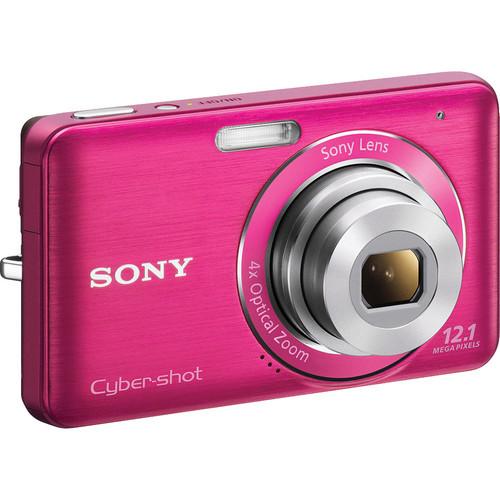 Sony Cyber-shot DSC-W310 Digital Camera (Pink)