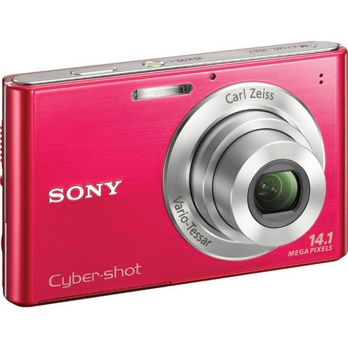 Sony Cyber-shot DSC-W330 Digital Camera (Red)