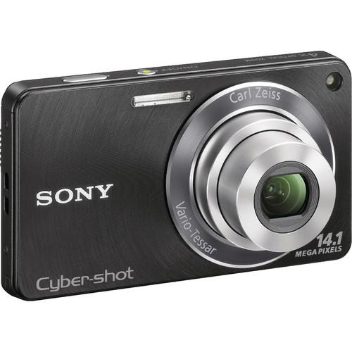Sony Cyber-shot DSC-W350 Digital Camera (Black)