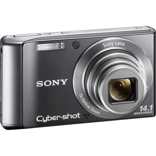 Sony Cyber-shot DSC-W370 Digital Camera (Silver)