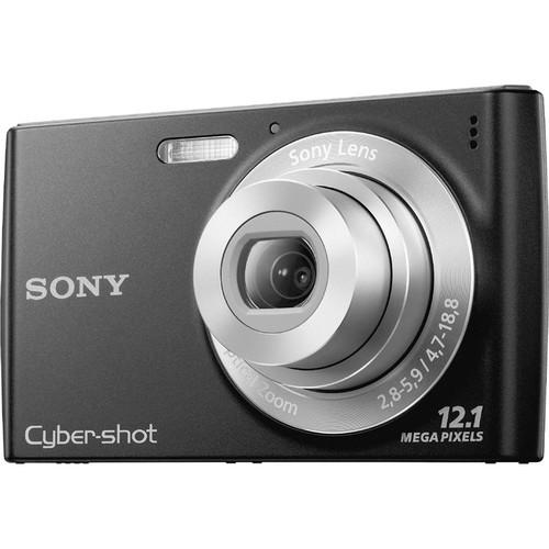 Sony Cyber-shot DSC-W510 Digital Camera (Black)