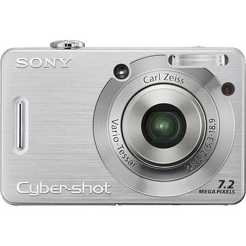 Sony Cybershot DSC-W55 Digital Camera (Silver)