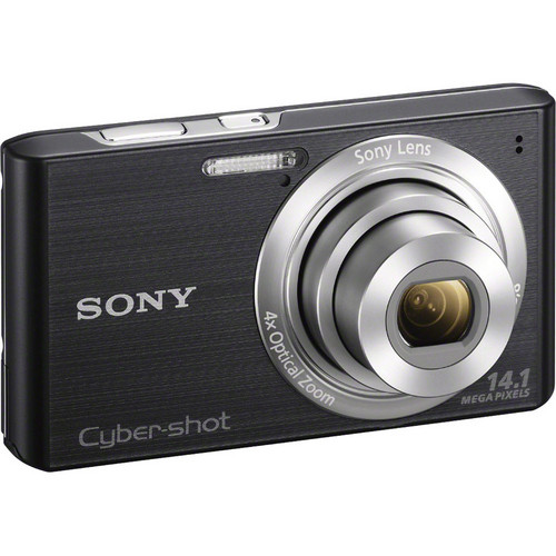Sony Cyber-Shot DSC-W610 Digital Camera (Black)