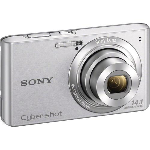 Sony Cyber-Shot DSC-W610 Digital Camera (Silver)