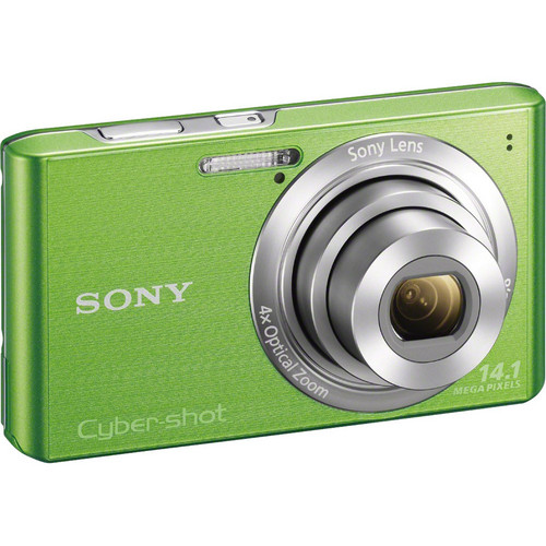 Sony Cyber-Shot DSC-W610 Digital Camera (Green)