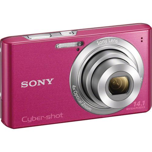 Sony Cyber-Shot DSC-W610 Digital Camera (Pink)