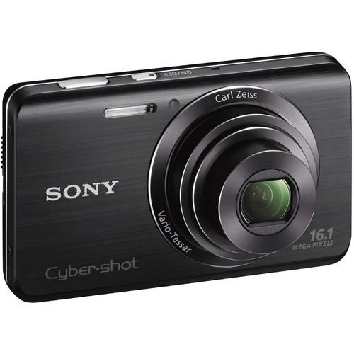 Sony Cyber-Shot DSC-W650 Digital Camera (Black)