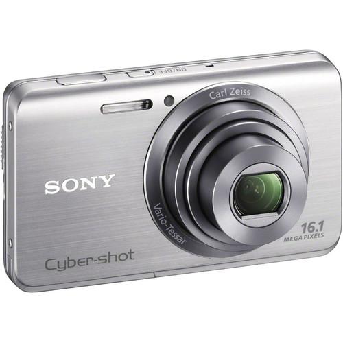 Sony Cyber-Shot DSC-W650 Digital Camera (Silver)