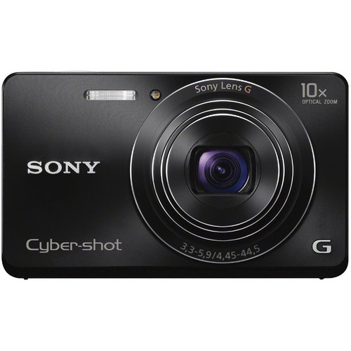 Sony Cyber-shot DSC-W690 Digital Camera (Black)
