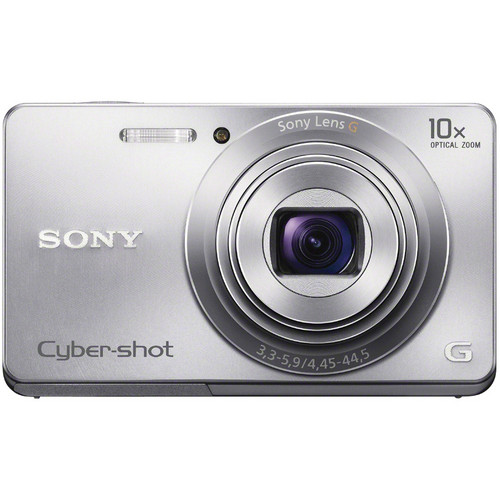 Sony Cyber-shot DSC-W690 Digital Camera (Silver)