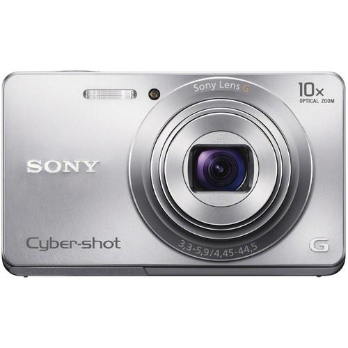 Sony Cyber-shot DSC-W690 Digital Camera (Silver)