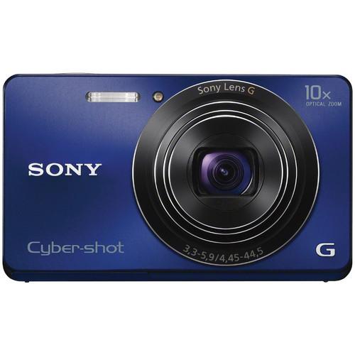 Sony Cyber-shot DSC-W690 Digital Camera (Blue)