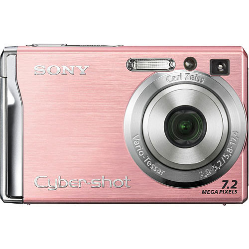 Sony Cyber-shot DSC-W80 Digital Camera (Pink)