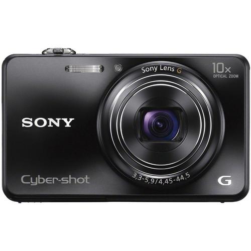 Sony Cyber-shot DSC-WX150 Digital Camera (Black)