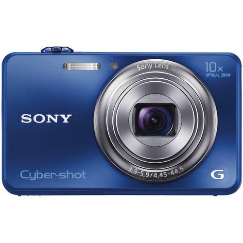 Sony Cyber-shot DSC-WX150 Digital Camera (Blue)