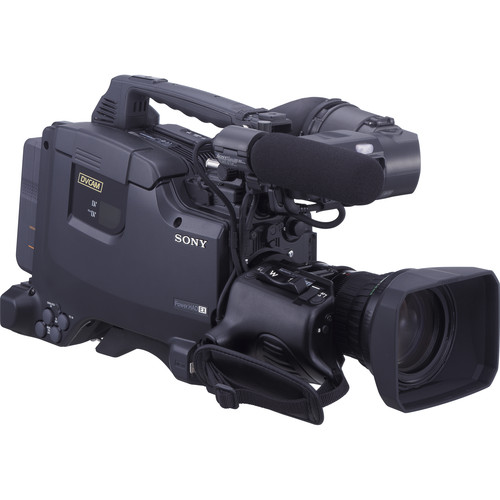 """Sony DSR-450WSL 2/3"""" 3-CCD Professional DVCAM Camcorder"""