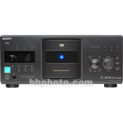 Sony DVP-CX995V DVD 400 Disc Changer